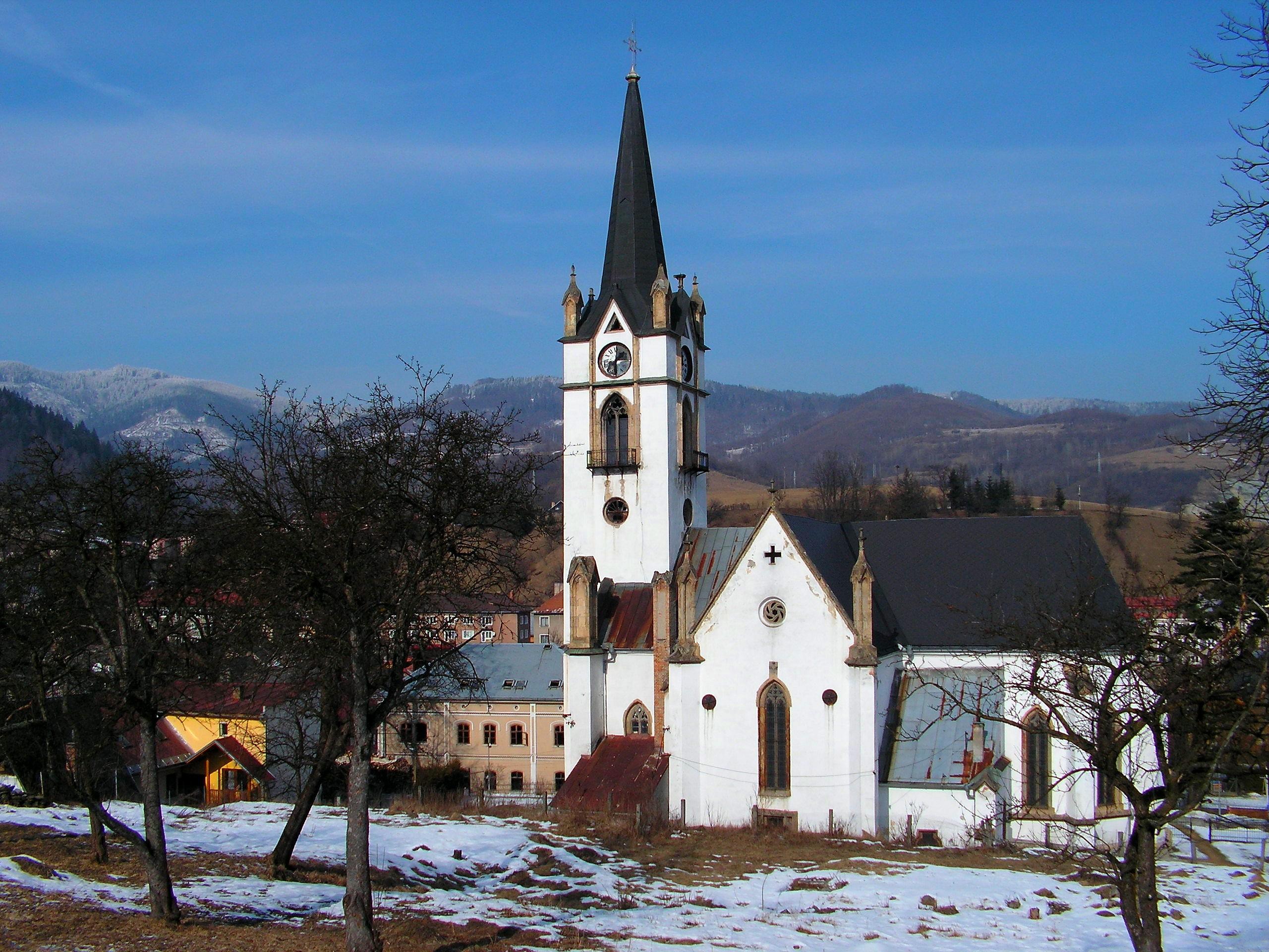 Evanjelický kostol v Dobšinej  21.2.2011