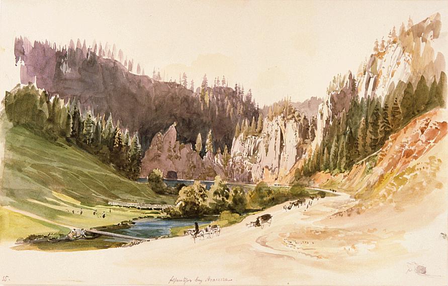 Coburgova cesta ku skalnej bráne pri Stratenej od T. Endreho.jpg